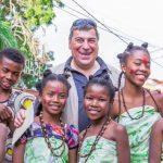 Marco Sassi il presidente del VIM volontari italiani in Madagascar in visita alle nostre strutture