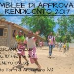 Convocazione Assemblee di approvazione del Rendiconto 2017