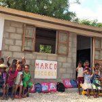 Una nuova aula nel Villaggio Scolastico