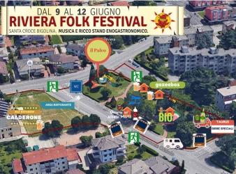 Riviera Folk Festival 9-12 Giugno 2016
